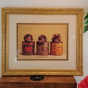 Anne Geddes Framed Matted Print